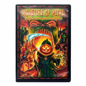 Dvd Monsters Of Metal - The Ultimate Vol. 2 Duplo Frete Grat
