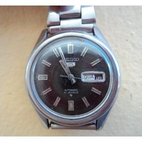 318825bff06 Relógio Seiko 5 Automático Antigo - Relógios no Mercado Livre Brasil