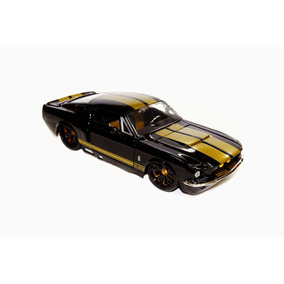 Miniatura Shelby Gt-500 1967 Jada Scala 1:24 Preto