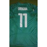Camisa Costa Do Marfim Copa 2014  11 Drogba Conservação 10 96f2e76b6799a