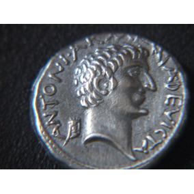 Denário De Marco Antonio E Cleópatra-roma Antiga-réplica