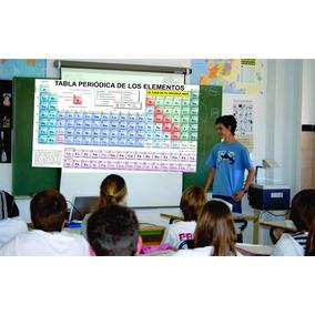 tabla peridica de los elementos educativo impresin vinil