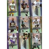 Set De 36 Tarjetas Futbol Americano Novatos Upper Deck 2005