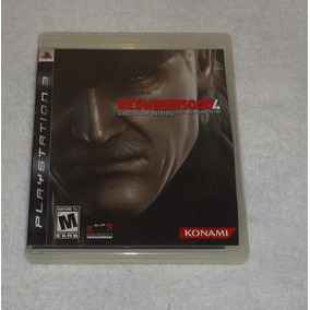 Metal Gear Solid 4 Ps3 * Frete Gratis