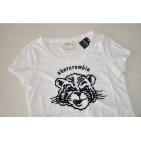 cc6115a4b4 Camiseta Infantil Abercrombie Kids (menina) - 100% Original