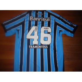 Camiseta Gremio (porto Alegre) Topper Banrisul Titular  46 7e337e8656eca