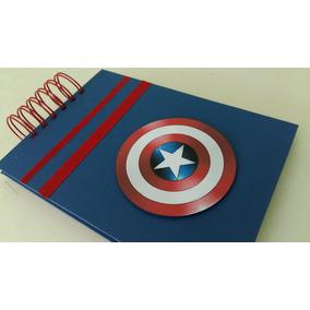 Álbum Super Heróis Capitão América