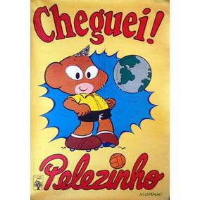 Poster Pelé Pelezinho Original