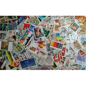 Lote Com 1000 Selos Comemorativos Da Alemanha