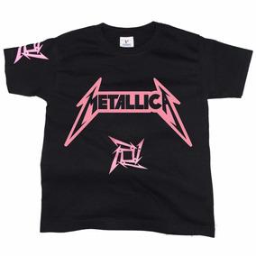 Playera De Rock Metallica Niña -envío Gratuito-