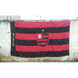 Bandeirão Do Flamengo - Tradicional C/ Escudo Central