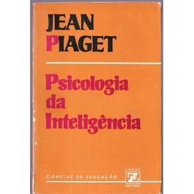 886a5e7344c Psicologia Da Inteligência Jean Piaget - Livros no Mercado Livre Brasil