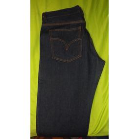 Jean Industrial Triple Costura 14.5 Onz Uniformes Talla 32