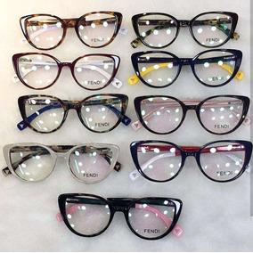 ffa45860f0767 Armacao De Oculos De Grau Acetato Oncinha Marrom Com Amarelo ...
