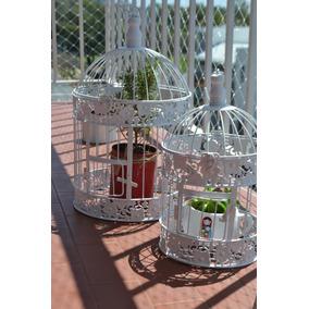 Jaulas Decorativas Vintage - Set Jaulas Decorativas