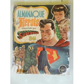Almanaque Dos Heróis 1949! Ebal!