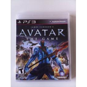 Avatar The Game Ps3 Mídia Física Original Perfeito