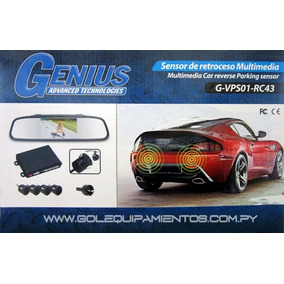 Kit Reversa Multimedia Retrovisor Camara+sensores,playsound