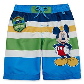 Ropa De Baño Mickey Mouse Para Niños De Disney 8f7a22e2997