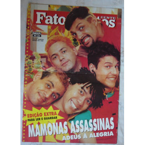 Fatos & Fotos - Março De 1996 - Nº1.248 - Mamonas Assasinas