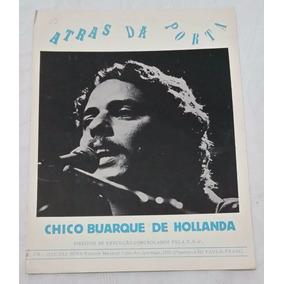 Partitura Piano - Atrás Da Porta - Chico Buarque De Hollanda
