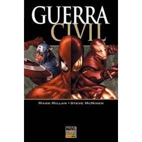 Coleção Digital Guerra Civil Marvel - 134 Hqs Pdf (completo)