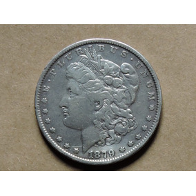 Usa Dollar Morgan 1879 26,7 Gramas Prata 900