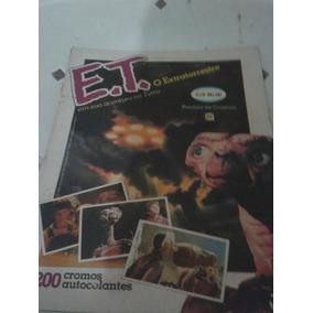 E.t. O Extraterrestre - Revista De Cromos (figurinhas)