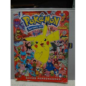 Álbum De Figurinhas - Pokemon - Jornada Johto Completo
