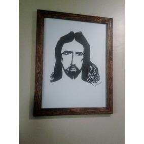 Dibujo Con La Cara De Jesuscrito De Los 70¨s