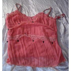 T-0085 Blusa Rosa Pop Jeans