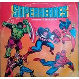 Discos Vinilo Lp Super Heroes - Memo Aguirre Con Superbanda