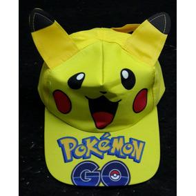 Pokemon Go Gorras Pikachu Charizard + Envio Dhl Express