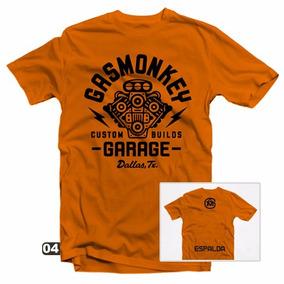 Playeras Gas Monkey - 27 Modelos Disponibles!!!
