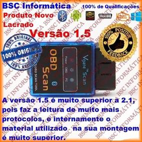 Scanner Automotivo Obd2 Bluetoot Leitor De Falhas Vgate 1.5