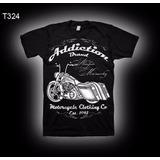 Camiseta Moto Harley Indian Old School Road King Ad Brand