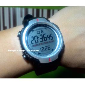 Relógio Pulso Esporte Digital Led Redondo Masculino Feminino