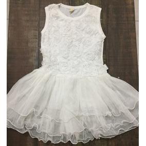 Vestido De Niña Tutu Tul Talla 5 Años Nuevo