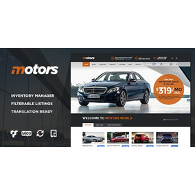 Template Wordpress Para Loja De Carros