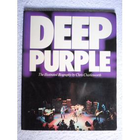 Livro Deep Purple - The Illustrated Biography - Relíquia