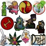 Parche Bordado Personajes Y Logos Los Simpsons X Unidad Adr