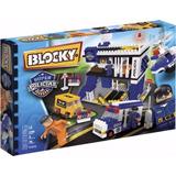 Blocky Super Policias 3 Cuartel Gral 290 Piezas Mundo Manias