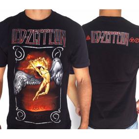 Camiseta Led Zeppelin - Camisetas Manga Curta para Masculino no ... af07fadd26903
