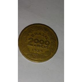 Moeda 2000 Reis Floriano Peixoto 1939