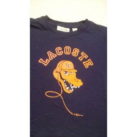 Camiseta Infantil Lacoste - Calçados, Roupas e Bolsas no Mercado ... dbbd106df6