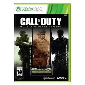 Call Of Duty Modern Warfare Trilogy Xbox 360 3 Jogos 3 Dvds