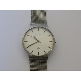 Relogio Skagen Denmark Titanium - Relógios De Pulso no Mercado Livre ... 06b9a514bf