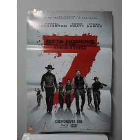 Poster Sete Homens E Um Destino - Frete: 8,00