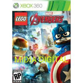 Midia Digital Marvel Lego Vingadores 25 Digitos
