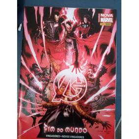 Hq Os Vingadores Nº 25 - Fim Do Mundo. C/ 68 Páginas.